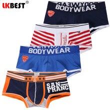 4 pçs/lote boxers dos homens cueca boxer de algodão boxershorts homme calzoncillos hombre jockstrap calcinha para o homem u convexo
