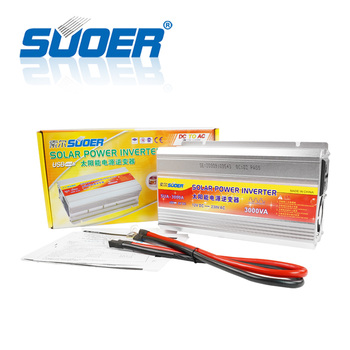 цена на Suoer 12v to 220v 3000w inverter 3kw Modified Sine Waveform Output solar power inverter