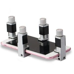 Image 2 - 4 Pieces / Set of Mobile Phone Repair Kit for Telephone Repair Adjustable Plastic Clip Fixture LCD Screen Clip Tool Kit