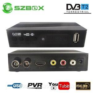 Image 1 - DVB T2 DVB T uydu alıcısı HD dijital TV Tuner alıcı MPEG4 DVB T2 H.264 karasal TV alıcısı DVB T Set üstü kutusu vs K3