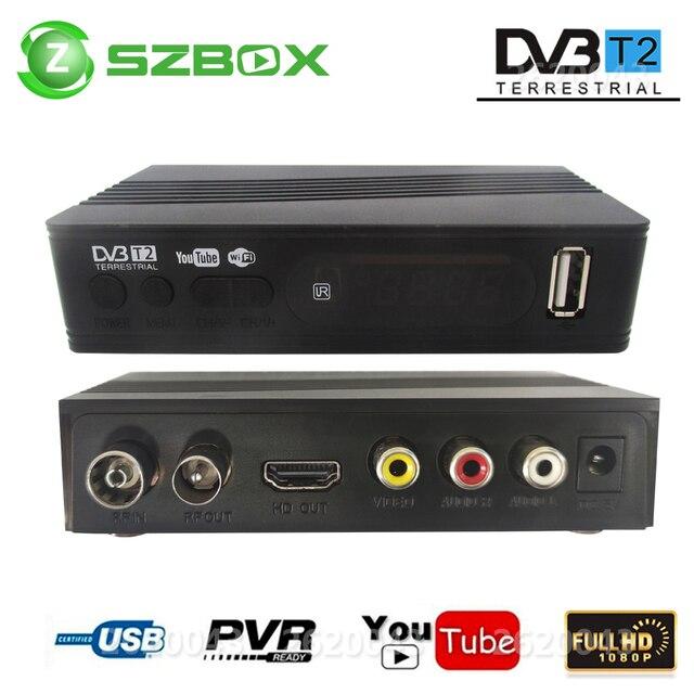 DVB T2 DVB T uydu alıcısı HD dijital TV Tuner alıcı MPEG4 DVB T2 H.264 karasal TV alıcısı DVB T Set üstü kutusu vs K3