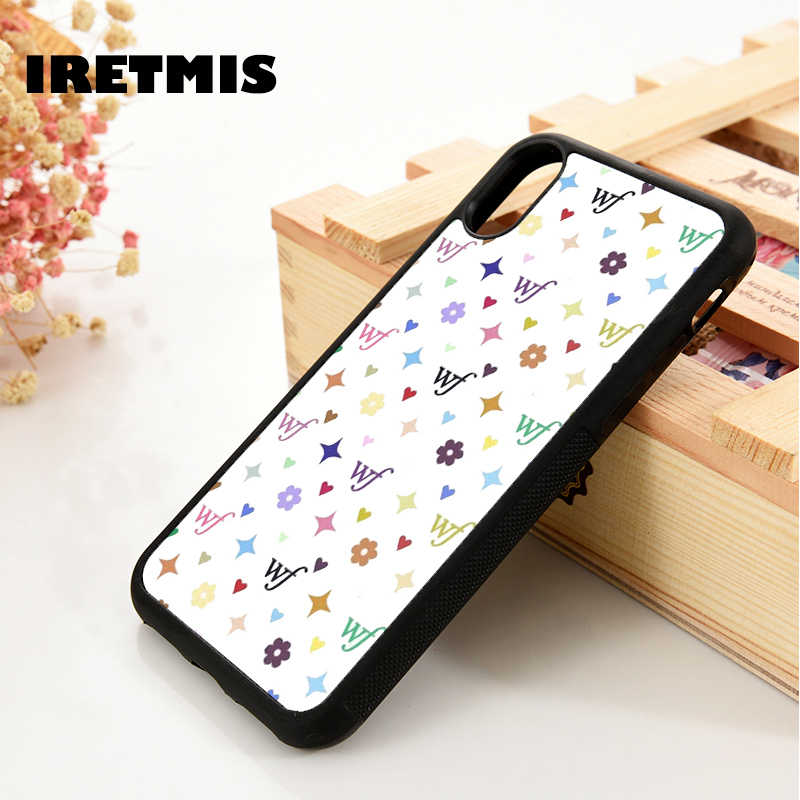 Iretmis 5 5S Se 6 6S Soft Tpu Silicone Rubber Phone Case Cover Voor Iphone 7 8 Plus X Xs 11 Pro Max Xr Kat Kitten Cloud Patroon
