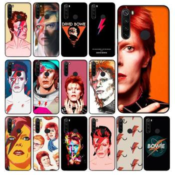 FHNBLJ David Bowie Custom Soft Phone Case for Xiaomi Redmi 5 5Plus 6 6A 4X 7 8 Note 5 5A 7 8 8Pro image