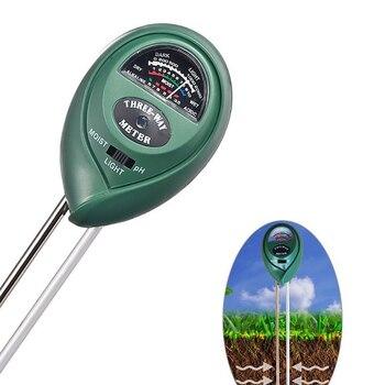 3 in 1 PH Tester Soil Detector Water Moisture humidity Light Test Meter Sensor for Garden Plant Flower Hydrometer Farming Garden