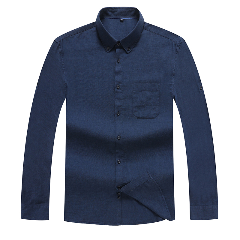 8XL 7XL 6XL 5XL 4XL Plus Size Cotton Oxford Shirt New Men Casual Shirts Long Sleeve Mens High Quality Slim Fit Dress Shirts