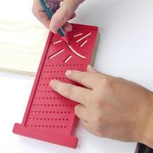 Деревообрабатывающий Scriber T-type Mark Line деревянный квадратный плотник инструменты макет метрический знак Калибр суппорт Линейка плотник измерительный инструмент