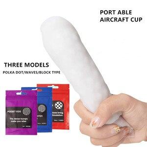 Realistic Masturbator Deep Throat Oral Cup Sucking Vagina Sex Toys For Men Easy to carry Pocket Pussy Soft Silicone Masturbators