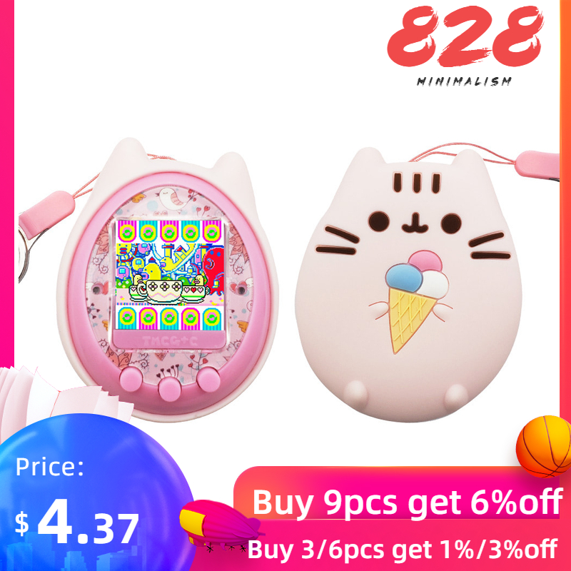 Shell Protective-Cover Pet-Game-Machine Silicone-Case Handheld Virtual Pet Electronic