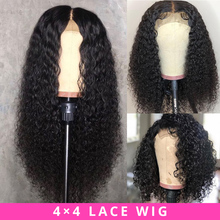 Brazilian Wig 4x4 Lace Closure Wig Kinky