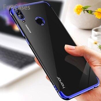 Funda de silicona suave para móvil, funda fina para Huawei Y6 Y7 2019 Pro Prime Y5 Lite 2018 Y9 Nova 3 3i DRA-LX5 LX2 ATU-L42 DUB-LX1 MRD