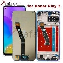 トラファルガーディスプレイhuawei社の名誉 3 lcdディスプレイPlay3 再生タッチスクリーンのための再生 3 ディスプレイフレーム交換部品