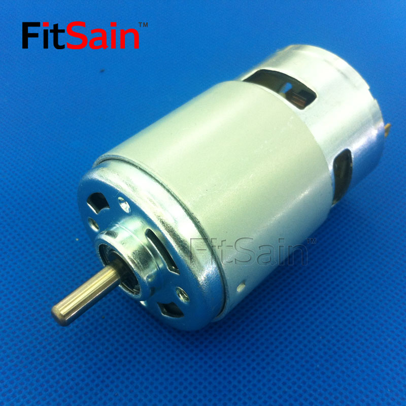 FitSain--DC 24V 8000rpm 775 motor shaft 5mm Large Torque high-power Double ball bearing Electric tool