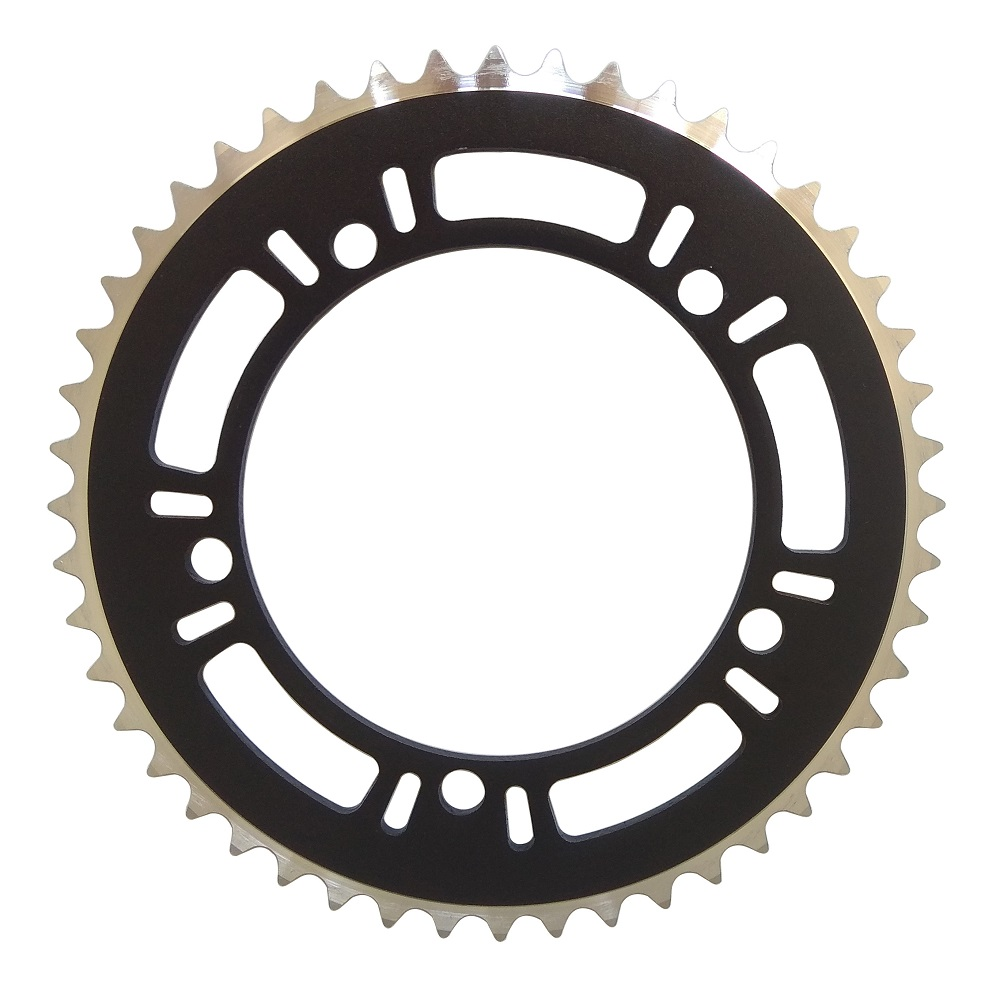 NEW 46T BCD:144 Chainring Chain Ring Track Fixie Road Single Speed Bike silver
