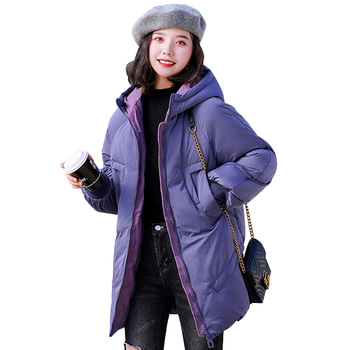 Winter Coat Women Thicken Warm Hooded Jacket Winter Cotton Padded Parka Female Outwear Thick FANMUER Casual Polyester 2020 parka winter women jacket fur collar hooded winter warm thick short parka winter coat outwear jacket