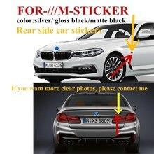 Наклейки M Sport / Power с эмблемами, значки с крыльями, серебряный хром для BMW M3 M5 G01 F20 G30 F30 F31 E36 E39 E87 E60 E46 E91 X3 X5
