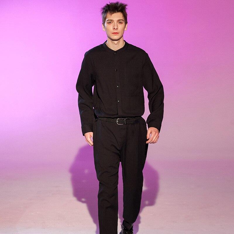 Catwalk Models Loose-Fit Fashion Man Onesie Wide-Leg Romper One-piece