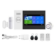 Motion-Detector-Sensor PG-107 Home-Security Wireless GSM with Burglar-Alarm App-Control