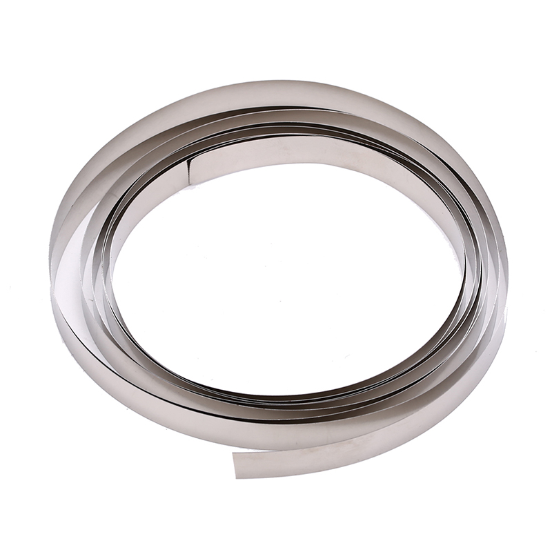 Great 2M 8mm X 0.1/0.12/0.15 Pure Nickel Strip Tape For Li 18650 Battery Spot Welding Compatible For Spot Welder Machine