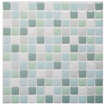Mosaic Wall Tile Peel and Stick  Self adhesive Backsplash DIY Kitchen Bathroom Home Wall Sticker Vinyl 3D 12