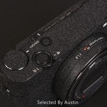 מדבקות עור עבור Sony ILCE 6400 A6400 מצלמה מדבקות לעטוף סרט מגן נגד שריטות מדבקה