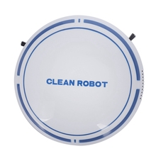 2 In 1 Upgraded Rechargeable Floor Sweeping Robot Dust Catcher Intelligent Auto-Induction Vacuum Cleaner Wh
