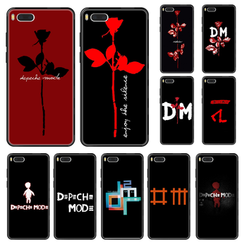 Band Depeches Phone case For Xiaomi Mi 6 8 9 A1 2 3 Max3 Mix2 Mix2S X T Lite Pro black pretty coque soft funda art waterproof image