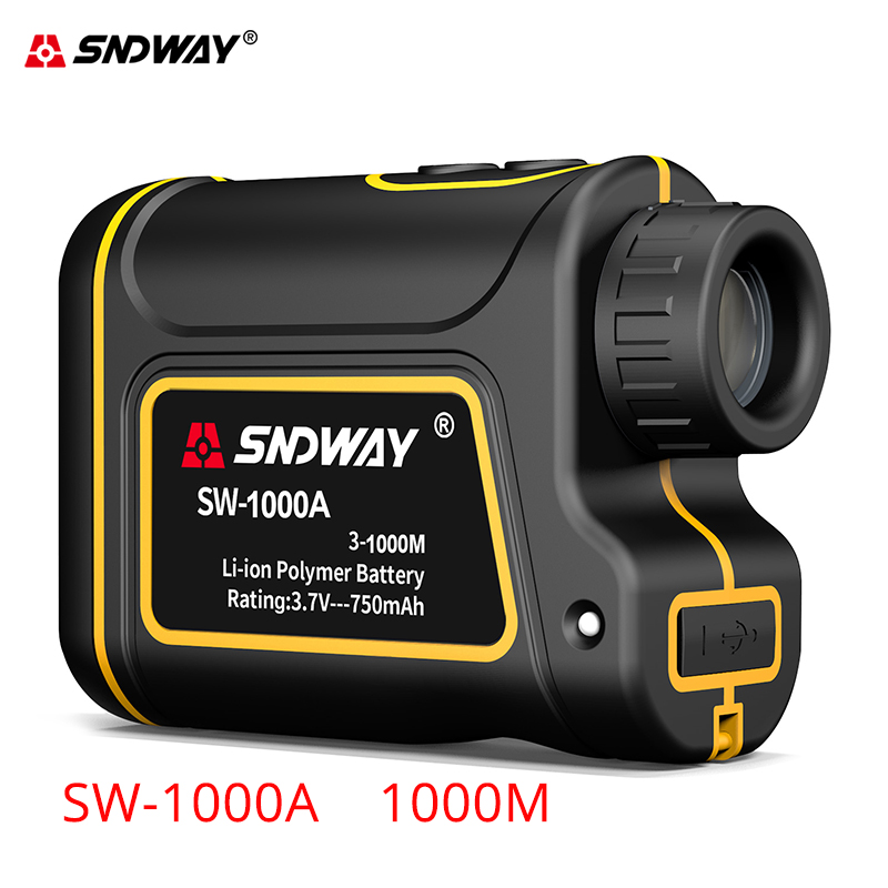 Finder Sndway Rangefinder Hunting Golf Laser Engineer For 6x Range Meter New 1500m Distance Laser 1000m Telescope Sport Launch