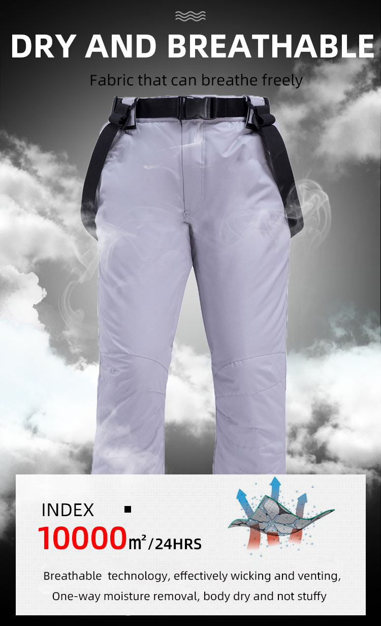 New Outdoor -35 Degree Snow Pants Plus Size Elastic Waist Lady Trousers Winter Skating Pants Skiing Outdoor Ski Pants for Women 61