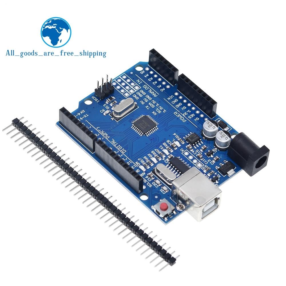 Макетная плата UNO R3 ATmega328P CH340 CH340G для Arduino UNO R3 с прямым контактным разъемом