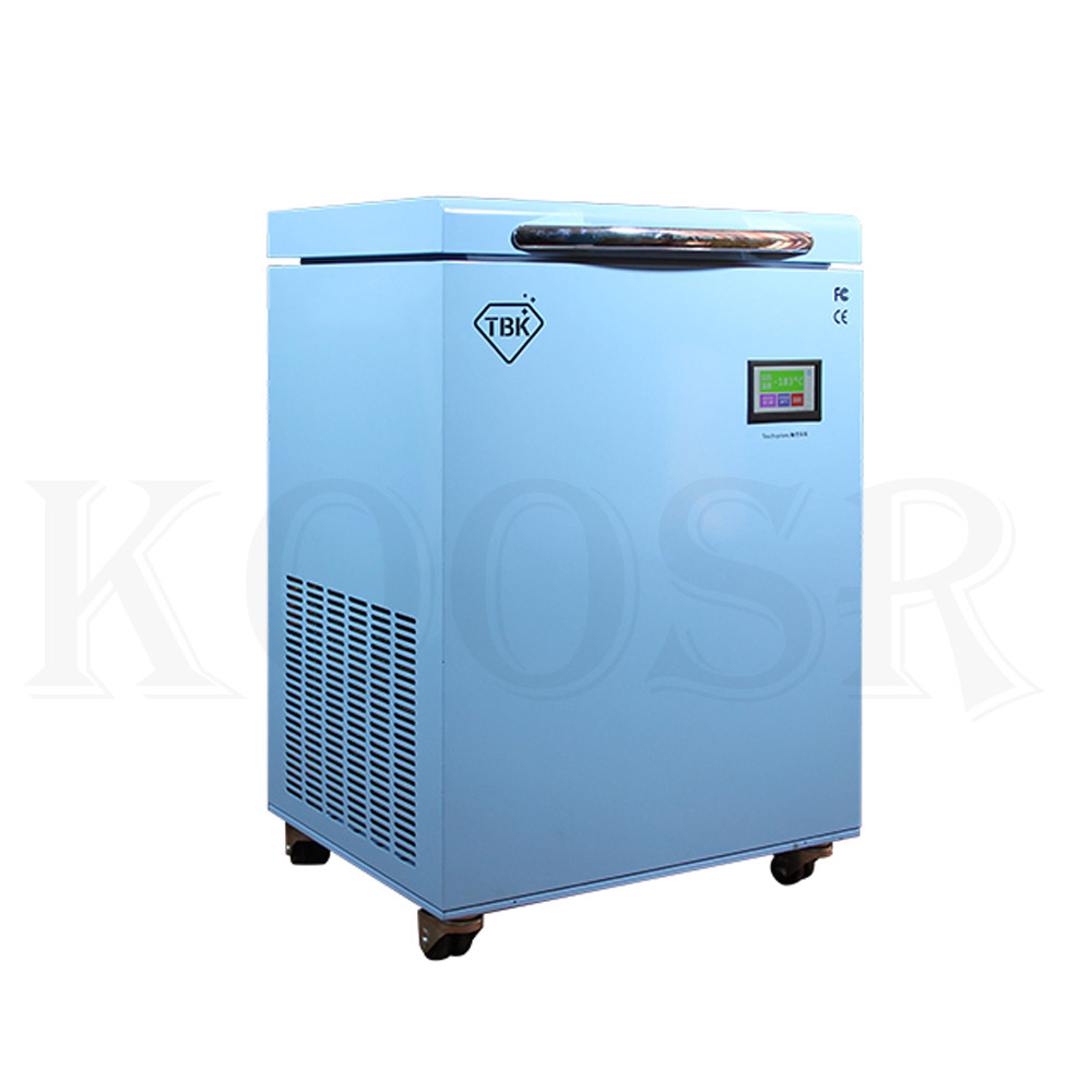 TBK-588A LCD Freezing Machine With -200C Lowest Working Temperature 5