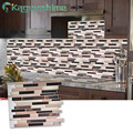 Kaguyahime Self Adhesive Mosaic Fliesen Küche Wand Aufkleber Wasserdichte Tapete 3D DIY Aufkleber Für Home Küche Decor 30x30cm