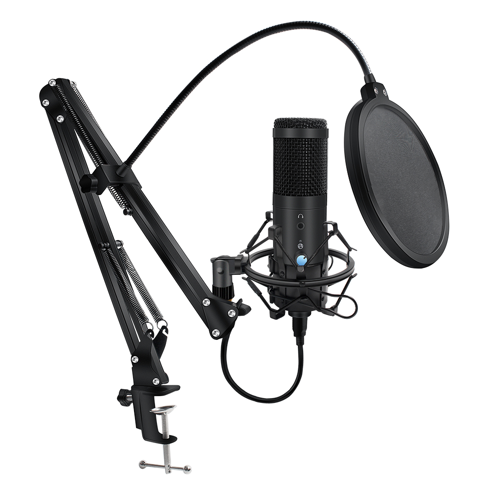 Studio Professional Microphone Computer Usb D90 Microfono For Youtube Condensador Usb Recording Mikrofon Live Broadcast|Microphones| - AliExpress
