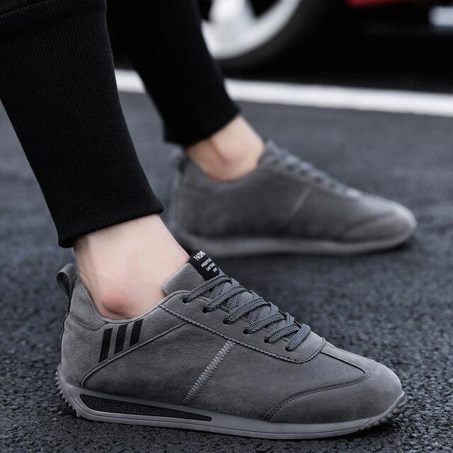 MR CO-zapatos informales para hombre estilo otoño primavera Forrest gump, cómodos, ligeros, de conducción, 2020 2