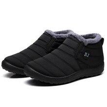 2020 Водонепроницаемая женская зимняя обувь, зимние ботинки для пар, женская обувь, нескользящая подошва, сохраняющие тепло, повседневные бот...