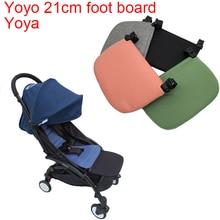 يويو 2 عربة الملحقات منضدة الساق مجلس تمديد مسند القدم ل Babyzen Yoyo2 يويا الطفل يدفع باليد