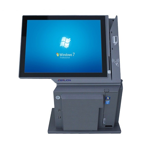 Afanda zl-1500 touch pos dual screen intel celeron j1900