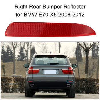 Right Rear Bumper Reflector Red Lens for BMW E70 X5 2008-2012 OEM:63217158950 image