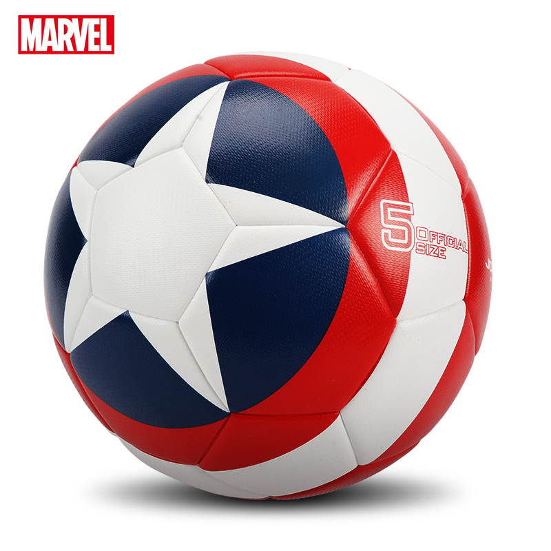 Marvel High Quality Football  Official Size 5 Football PU Slip-resistant Seamless Match Training Football Equipment Futbol