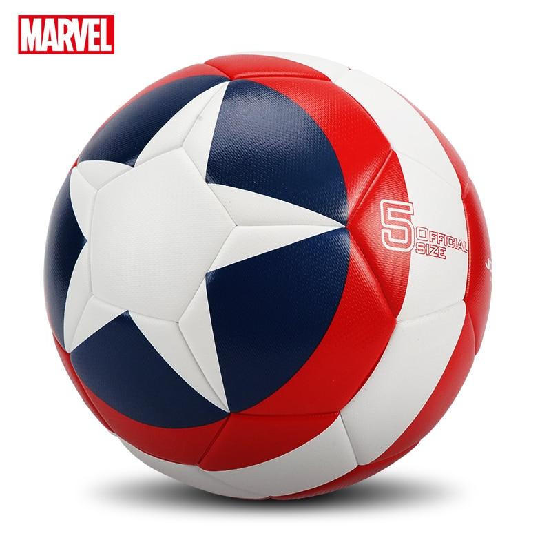 Marvel High Quality Football  Official Size 5 Football PU Slip-resistant Seamless Match Training Football Equipment Futbol