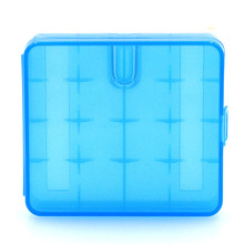 4 slots 18650 Rechargeable battery Storage box Plastic box 4 Section equipment Thicken