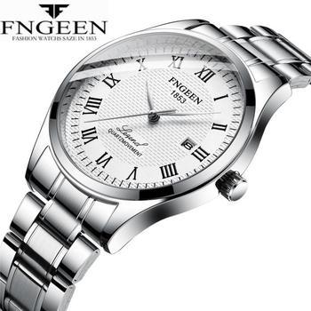 Wristwatch Male Clock Montre Hombre Men's Watches Men Business Luxury Sports Watches Stainless Steel Calendar Relogio Masculino