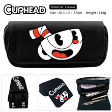 Toilet-Bound Hanako-kun Tsukasa Yugi Jibaku Shounen Cosplay Pencil bag Canvas Double Zipper Bag toy Gift Pencil Pen Bag Organize(China)