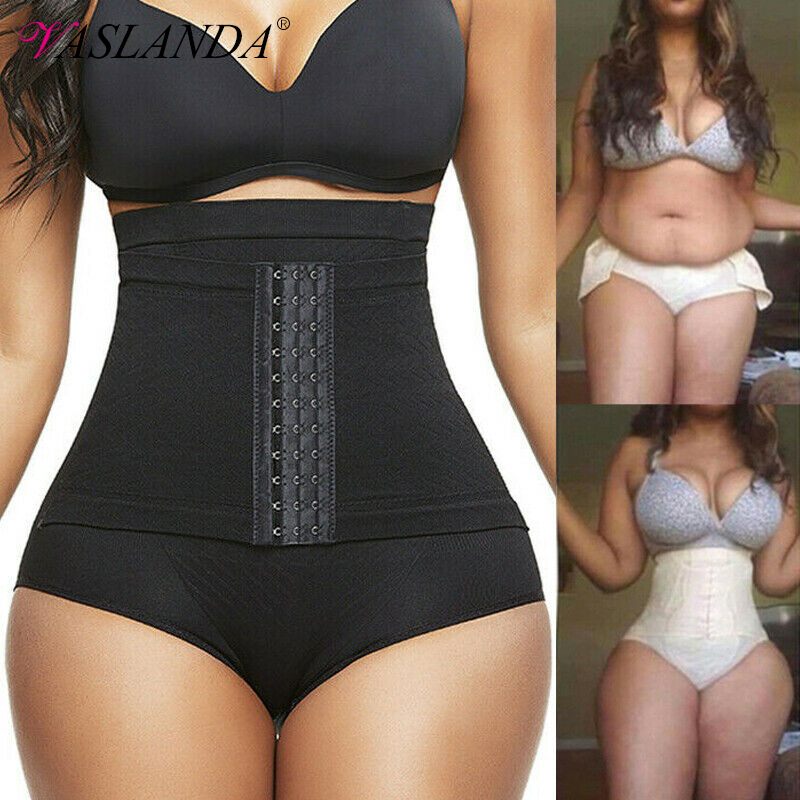 Women High Waist Tummy Control Panties Butt Lifter Body Shaper Shaping Briefs Shapewear Slimming Underwear Seamless Underpants