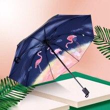Зонт для мужчин и женщин, большой размер, складной хипстерский зонтик, защита от солнца, УФ-Защитный зонтик, богиня, женский дождь или блеск, двойной