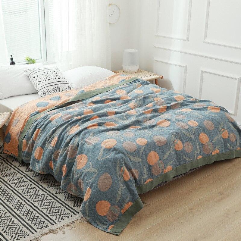 Junwell 100% хлопковое муслиновое одеяло, кровать, диван, дорожная, дышащая, милая, большая, мягкая, одеяло|Одеяла|   | АлиЭкспресс