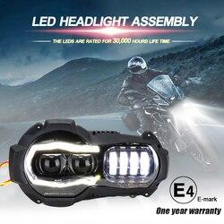 Новое поступление! светодиодный проектор для мотоцикла для BMW R1200GS 2004-2012 R 1200GS ADV Adventure 2005-2013 Moto фары в сборе