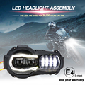¡Nueva llegada! proyector de faros LED de motocicleta para BMW R1200GS 2004-2012 R 1200GS ADV Adventure 2005-2013 montaje de luces de Moto