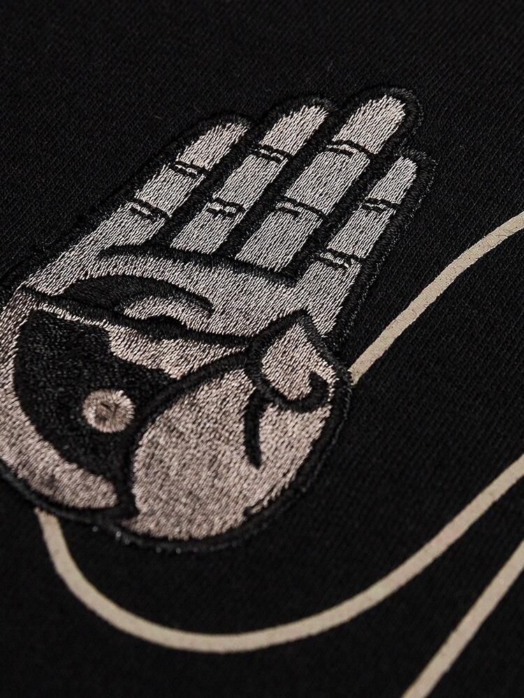 Estate di sesso maschile e Femminile T shirt Tee di Skateboard Ragazzo Skate Tshirt Magliette e camicette 100% cotone Degli Uomini di Roccia Hip hop Street wear maglietta di modo - 5