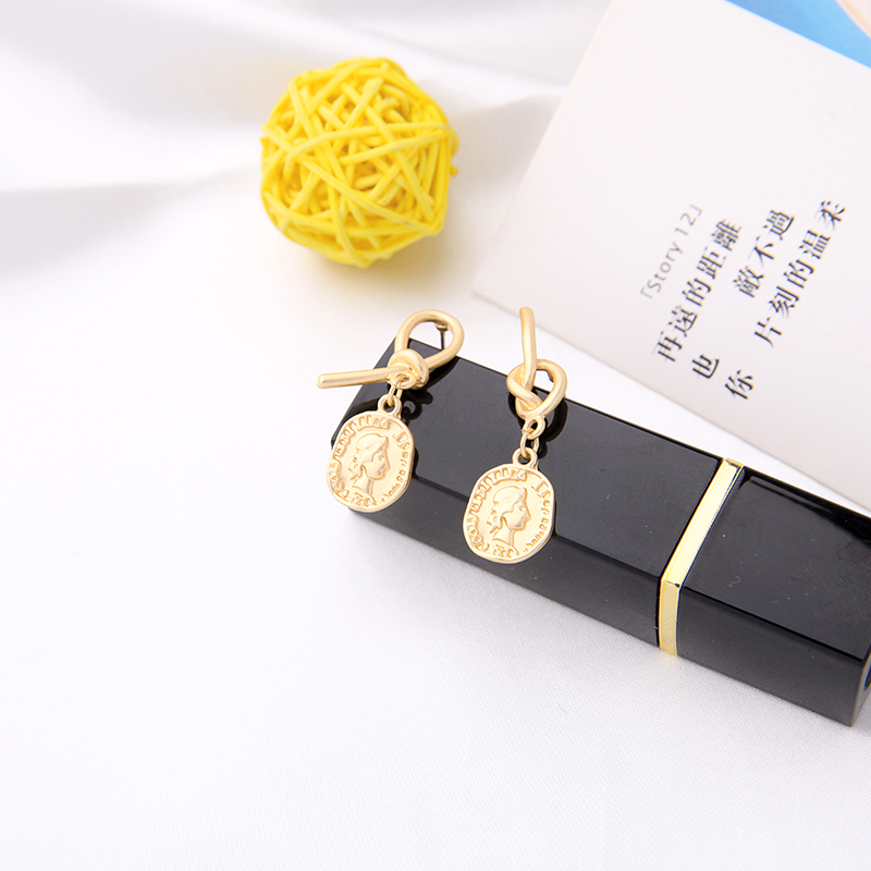 Romantic New Ethnic Fashion Emboss Drop Earring For Women Handmade Appointment Date Gift