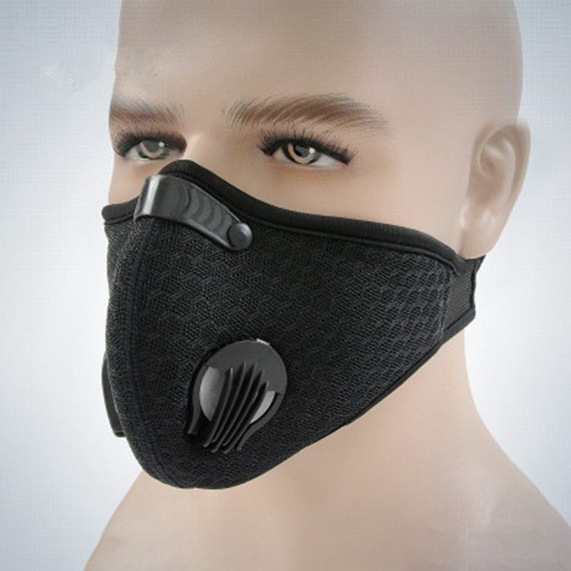 Filter Activated Carbon  2.5 Anti-Pollution Running With Cycling Mask KN95 Antiviral Coronavirus Sport Face Mask 5
